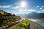 THE GREAT JOURNEYS OF NEW ZEALAND - TRANZALPINE TRAIN - Christchurch - Greymouth